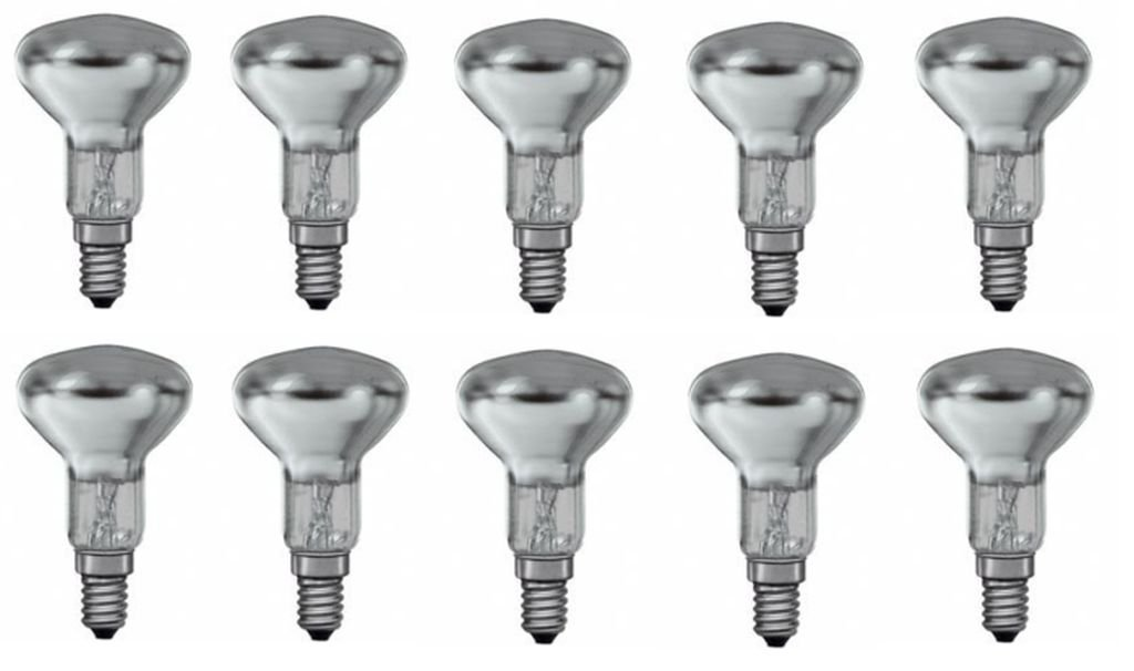 3 x Philips Reflektor Gl/ühbirne Spotone R50 25W 25 Watt Gl/ühlampe E14 Reflektorlampe
