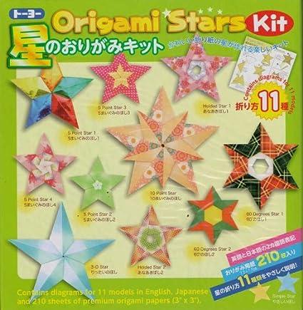 Amazon Origami Stars Kit 11 Models Toys Games
