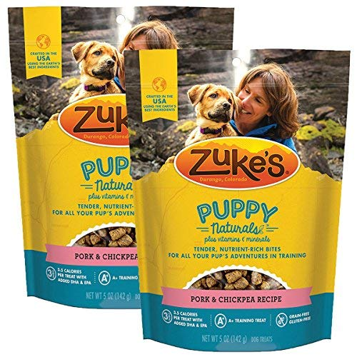 Zuke's Puppy Naturals Lamb & Chickpea Recipe Puppy