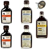 Bundle of 5 - Bourbon Barrel Sauces - 2 Bluegrass Soy Sauce, 2 Aged Worcestershire Sauce and Kentuckyaki (Bundle of 5)