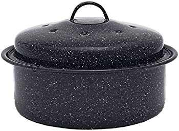 Granite Ware Covered Round Roaster Pan