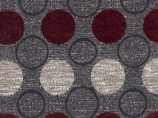Tela de tapicería de Stage Point 4058 (rojo, rojo oscuro ...