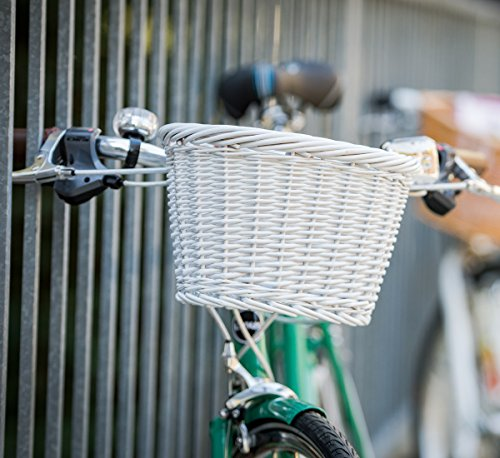 Bell Tote 300 Small Wicker Basket Front Handlebar - White by Bell (Image #3)