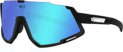 TOPTETN Polarized Sports Sunglasses