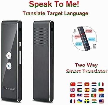 Coomir /Übersetzung MUAMA Enence Smart Instant Echtzeit-/Übersetzer f/ür tragbare Sprachsprachen
