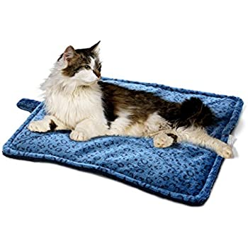 Milliard Thermal Cat Mat / Self Heating to keep Your Pet Warm and Reversible and Washable for Easy Maintenance - 21in x 17in