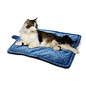 Milliard Thermal Cat Mat / Self Heating to keep Your Pet Warm and Reversible and Washable for Easy Maintenance - 21in x 17in 68