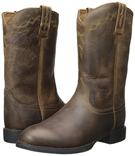 5 Boot 7 Work Distressed Brown Heritage B Roper Ariat Women's US wPqx0If88
