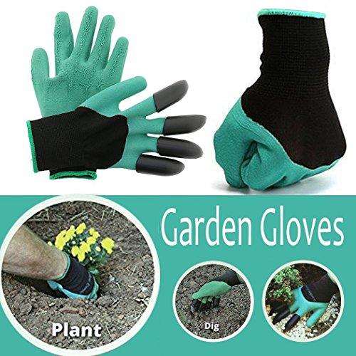 ... JOYTOUR Garden Gloves Thorn Proof Digging Planting With  ...