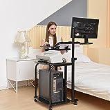 e-Joy Mobile & Compact Computer Cart / Computer