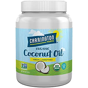 Best Epic Trends 51qBKw0uIdL._SS300_ Carrington Farms Gluten Free, Unrefined, Cold Pressed, Virgin Organic Coconut Oil, 54 oz. (Ounce), Perfect Coconut Oil…