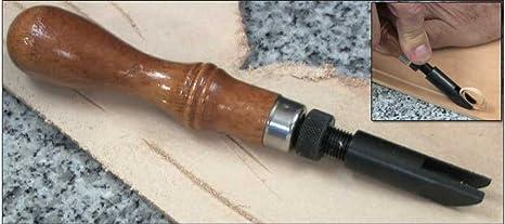 """Craftool Adjustable /""""V/"""" Gouge  Tandy Leather 31811-00"""