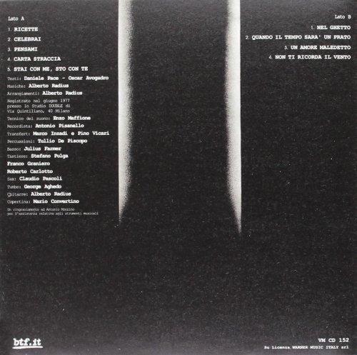 Risultati immagini per ALBERTO RADIUS – Carta Straccia (1977, Italy)