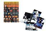 CVN Fun (48pce.) SPACE / SOLAR SYSTEM Party Favors 24 Solar System Pencils / 24 Space Station Notebooks - Goody bag/giveaway / classroom reward
