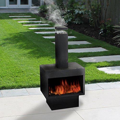 Superior Guaranteed4Less Outdoor Fire Pit Metal Chiminea Log Wood Burner Garden  Patio Heater Fireplace: Amazon.co.uk: Garden U0026 Outdoors