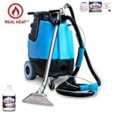 2002CS - Contractor's Special Heated Carpet Extractor One Case (8 Quarts) of Mo' Power Carpet & Upholstery Extraction Cleaner - Bundle 2 Items