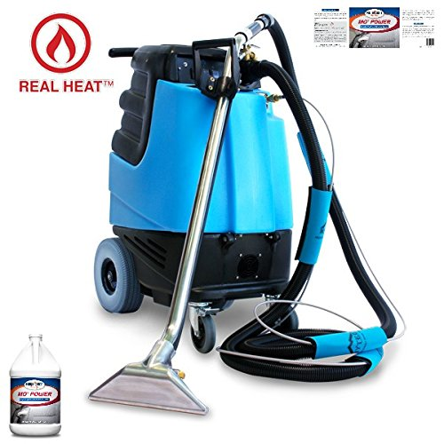 - 2002CS - Contractor's Special Heated Carpet Extractor One Case (8 Quarts) of Mo' Power Carpet & Upholstery Extraction Cleaner - Bundle 2 Items