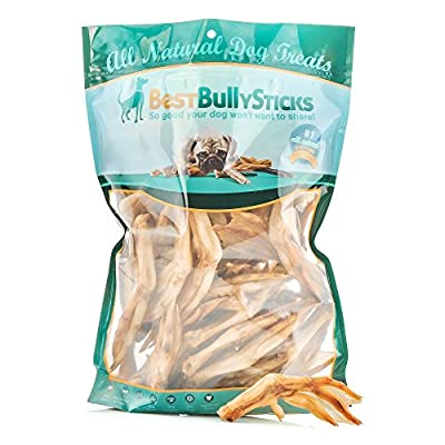 All-Natural USA Duck Feet Dog Treats by Best Bully Sticks (30 Pack)