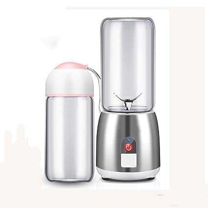 DULPLAY Jugo mini taza de,Exprimidor,Carga usb Blender portable Mezclador de fruta Personal