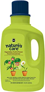 Nature's Care Vegetable, Fruit & Flower Food Concentrate (Liquid), 32 oz.