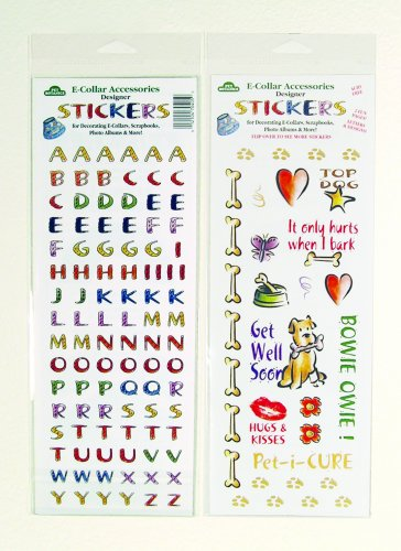 Cardinal Laboratories Pet Botanics E-Collar Designer Stickers