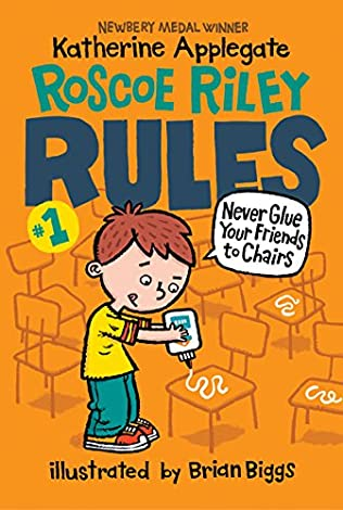 book cover of Never Glue Your Friends to Chairs