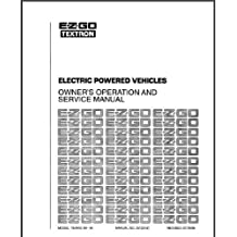 EZGO 25122G1 1989-1998 Service Manual For Electric Golf Cars, Trucks, & Personal Vehicles