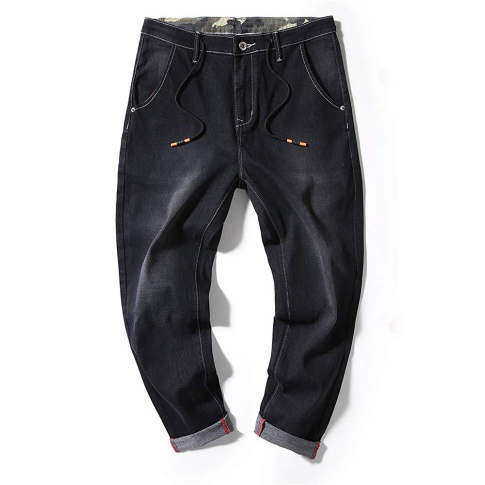 Mens Casual Elastic Baggy Harem Pants Trousers Fashion Comfortable Casual Pants
