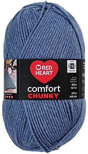 Coats & Clark Inc. RED Heart Comfort Chunky Yarn, Blue Jeans from Coats & Clark Inc.