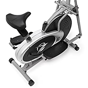 Plasma Fit Elliptical Machine Cross Trainer 2 in 1 Exercise Bike Cardio Fitness Home Gym Equipment from Plasma Fit