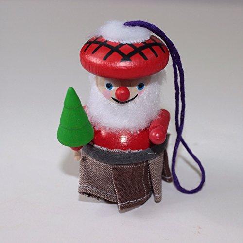 Steinbach Scottish Santa Claus Kilt Handmade German Christmas Tree Ornament