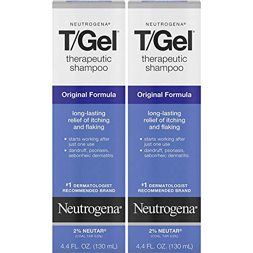 Neutrogena T/Gel Therapeutic Shampoo, Original Formula - 4.4 oz - 2 pk