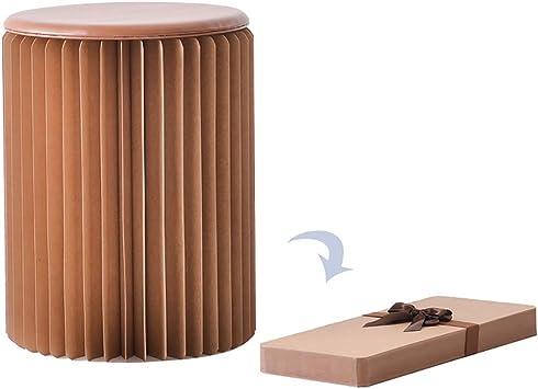 28cm Faltbarer Papier Hocker Papphocker Papierhocker Papiermöbel mit
