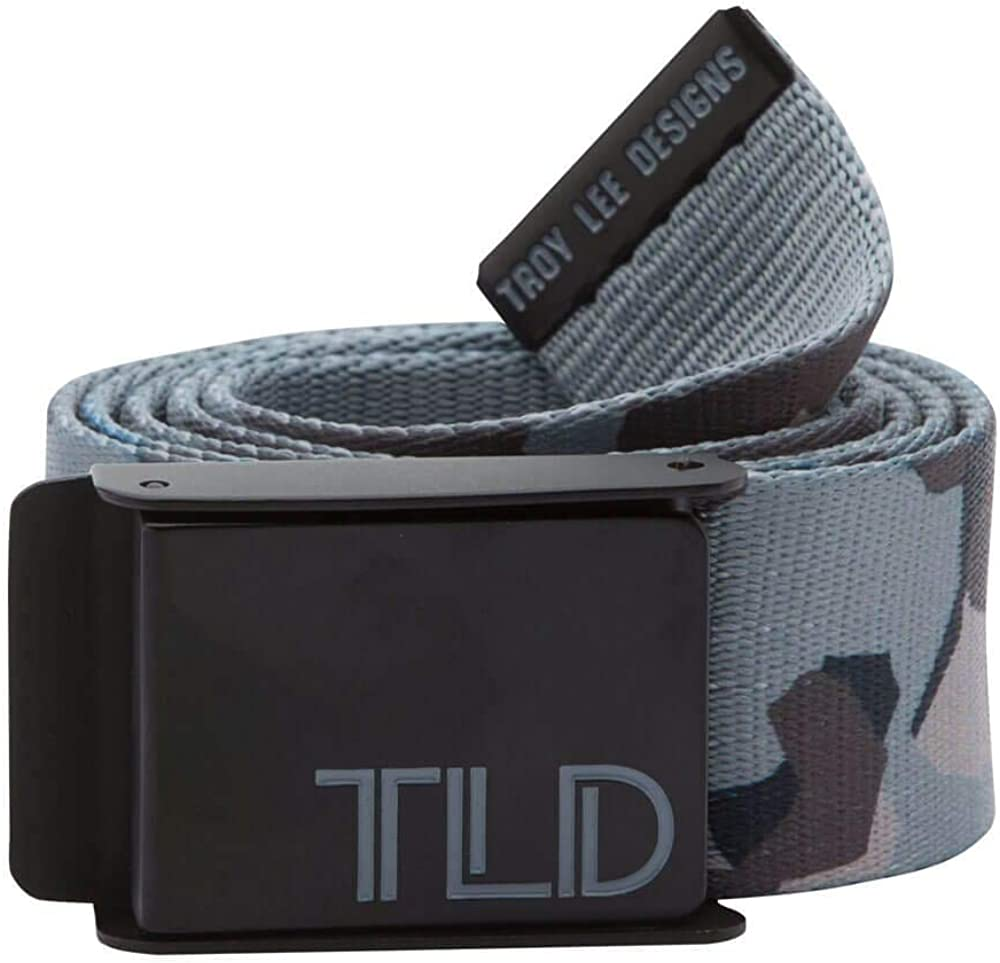 Troy Lee Designs Dot Bebossed Faux Leather and Double Ring Steel Closure Mens Casual Grip Belt