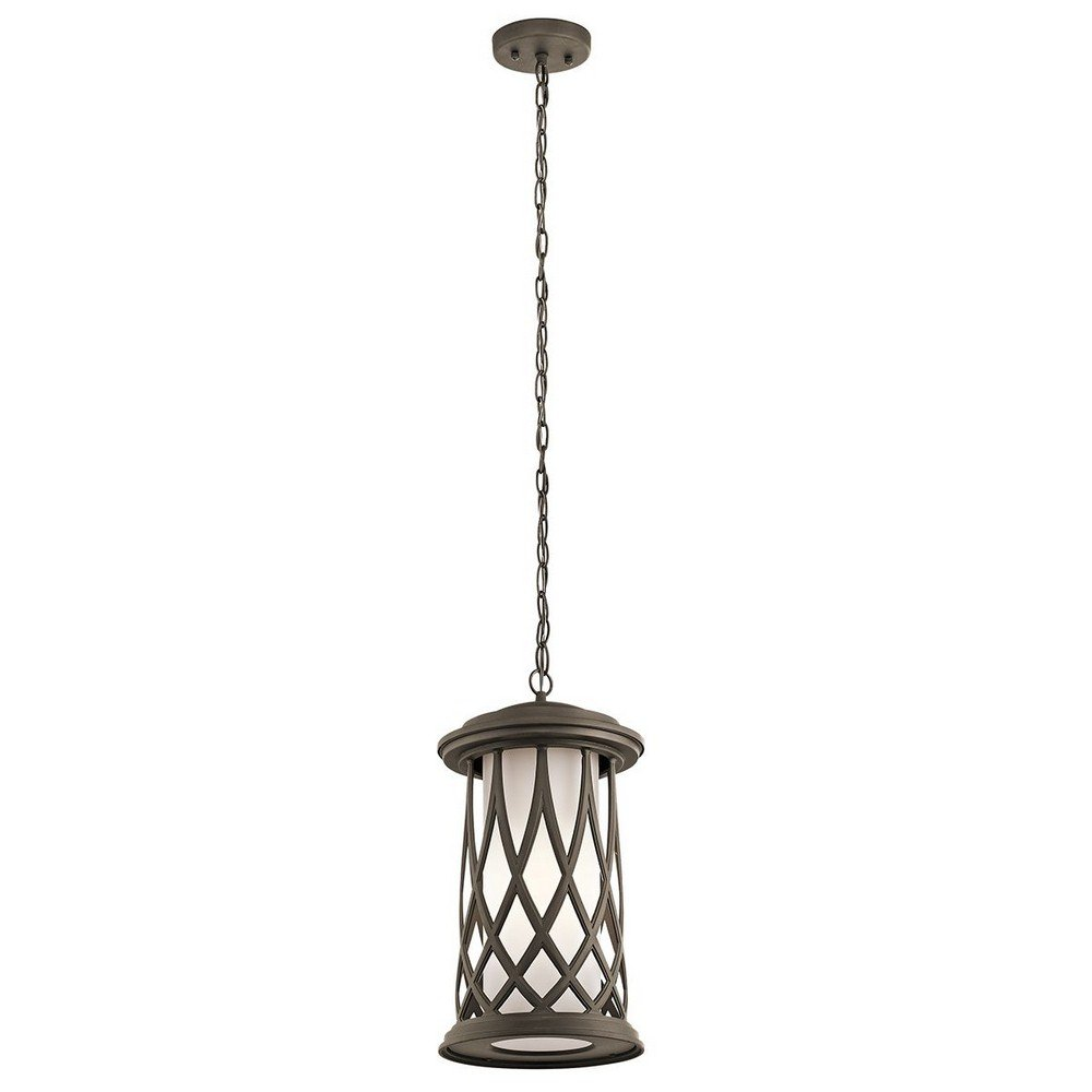 Kichler 49685OZ One Light Outdoor Pendant