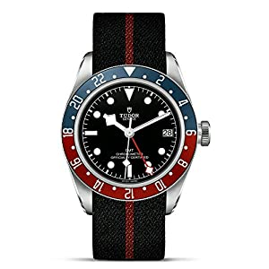 51qBQO2b4GL. SS300  - Mens Tudor Black Bay GMT Red Blue Pepsi M79830RB-0003 Watch