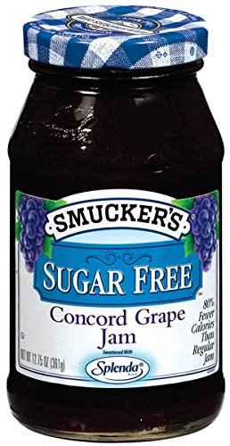 - Smucker's Sugar-Free Concord Grape Jam, 12.75 oz (Pack of 6)
