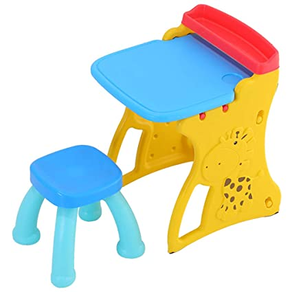 Amazon.com: Table & Chair Sets Childrens Drawing Board Childrens ...