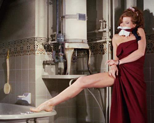 Samantha Eggar in The Collector in bath towel tied up 11x14 HD Aluminum Wall Art