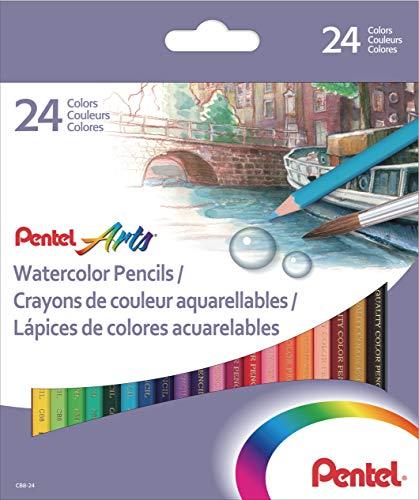 Pentel Arts Watercolour Pencil Set - Assorted