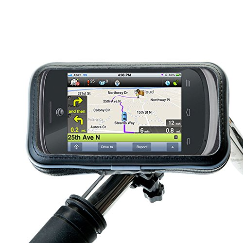Rugged and Lightweight Gomadic Handlebar Mount designed for