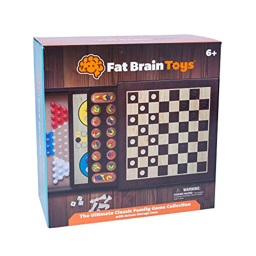 Fat Brain Toys The Ultimate Classic Family Game Collection Games for Ages 6 to 10
