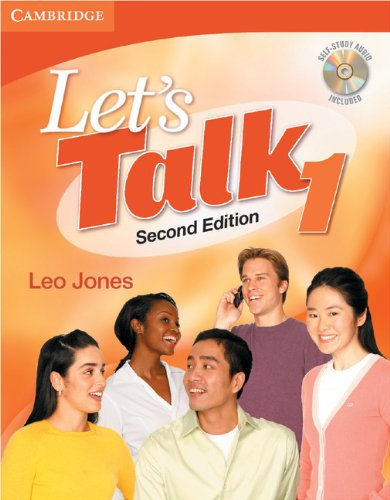 Let's Talk Student's Book 1 with Self-Study Audio CD by imusti