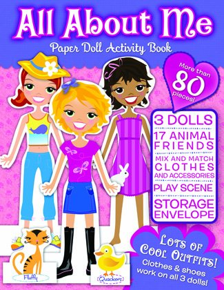 Download All About Me Paper Doll Activity Book ebook