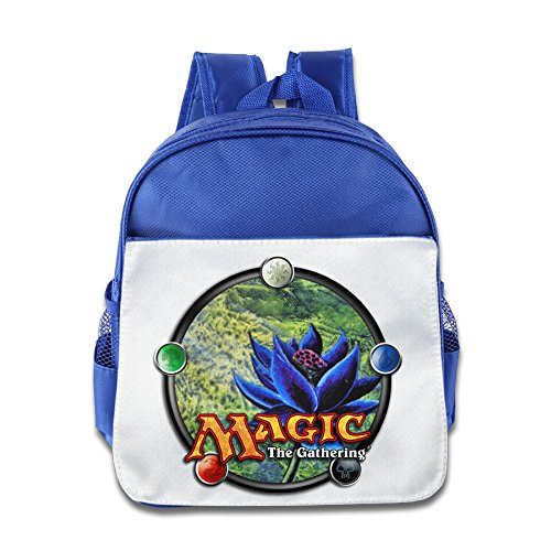 XJBD Custom Superb Magic The Gathering Kids School Bagpack For 1-6 Years Old RoyalBlue