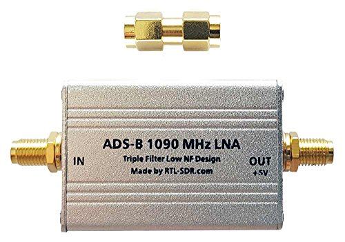 ADS-B LNA High Performance Triple Filter Low NF Amplifier by RTL-SDR Blog by RTL-SDR Blog