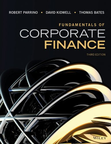 - Fundamentals of Corporate Finance