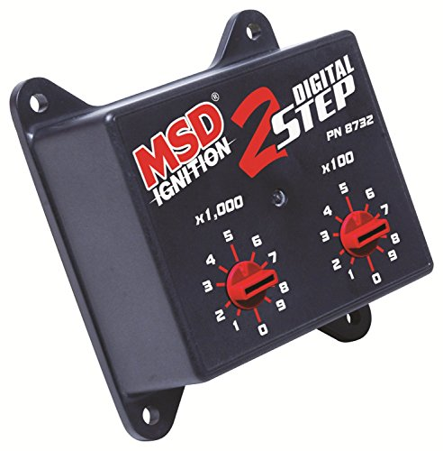 MSD IGNITION 8732 Digital 2-Step Rev Control for 6425 - Control Step Launch 2