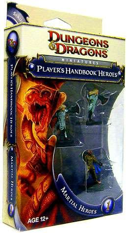 Player's Handbook Heroes Martial Heroes 1 Dungeons and Dragons Miniatures