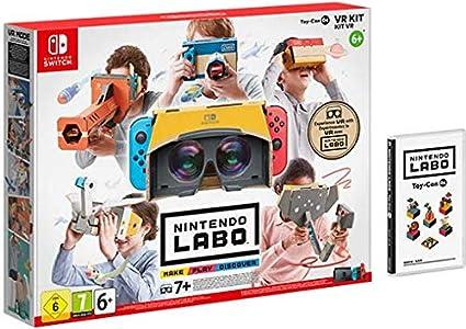 SWITCH Nintendo LABO: Kit de VR (set completo): Amazon.es: Videojuegos